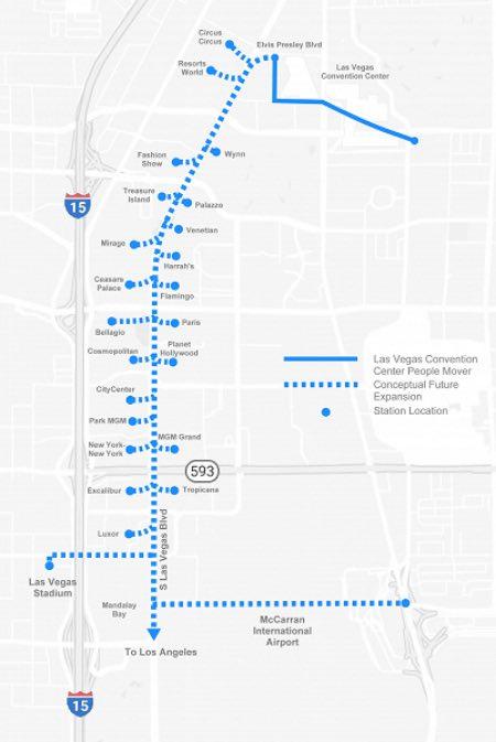Перші тунелі The Boring Company можуть з'явитися у Лас-Вегасі