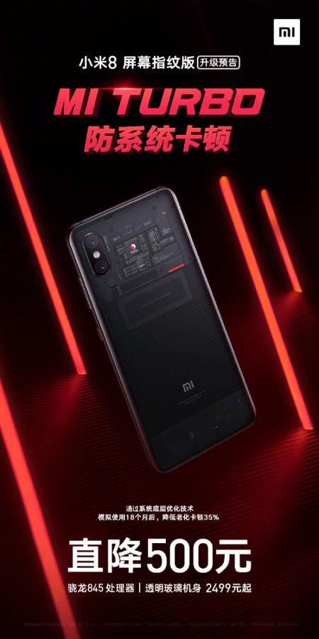 Xiaomi Mi 8 Pro отримає функцію Mi 9