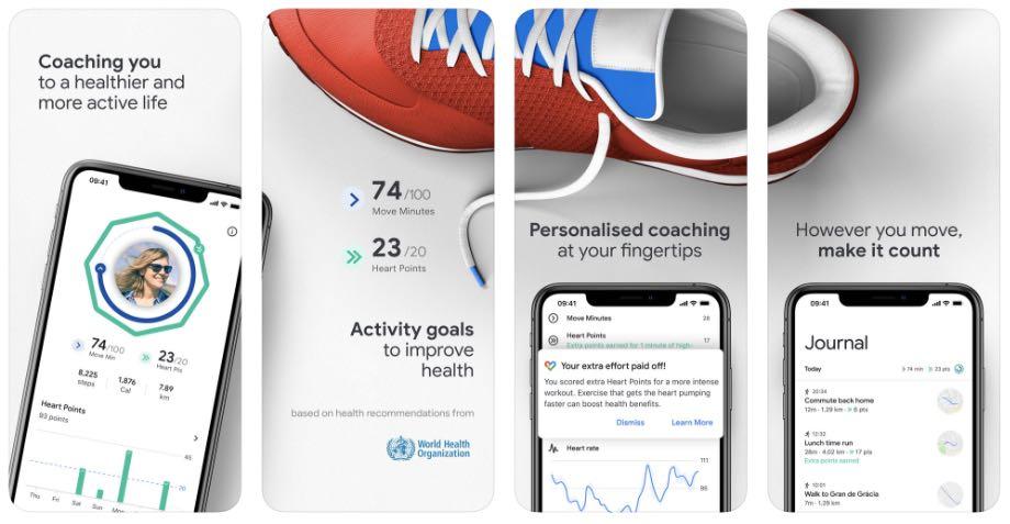 Google Fit став доступним для користувачів iOS
