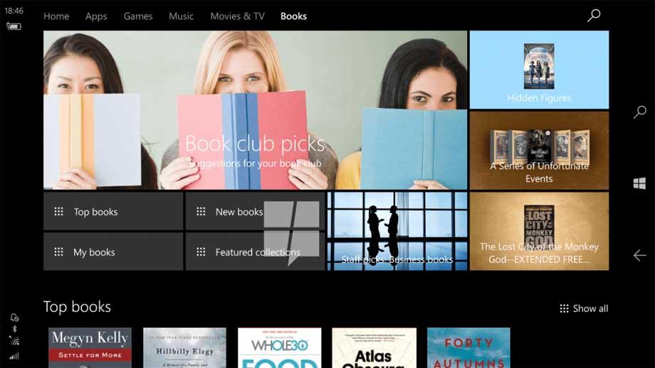 Microsoft закрив розділ з книгами в своєму магазині