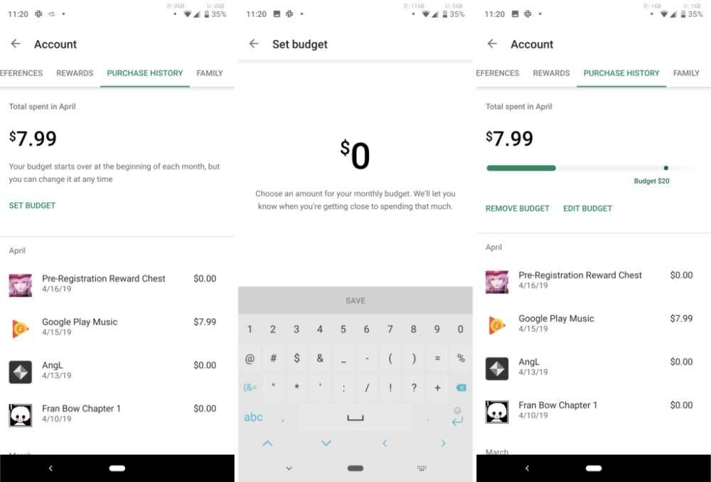 Google Play отримав функцію для контролю бюджету