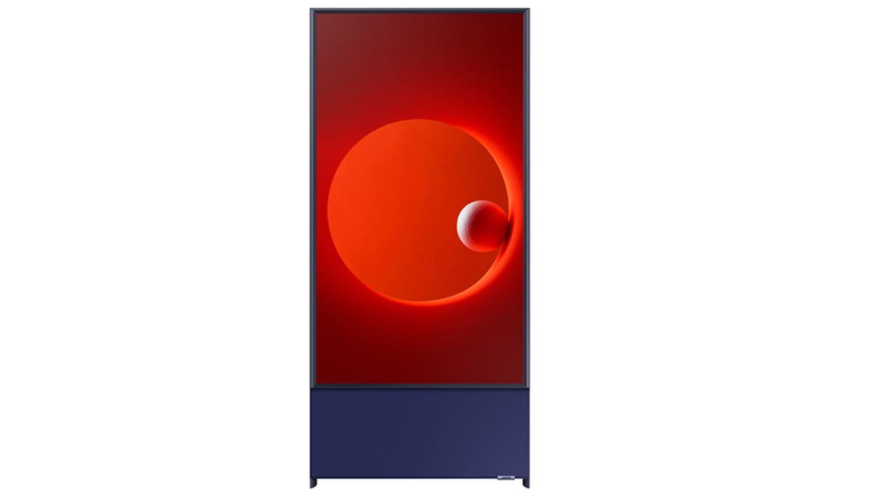 Samsung представив вертикальний телевізор Sero