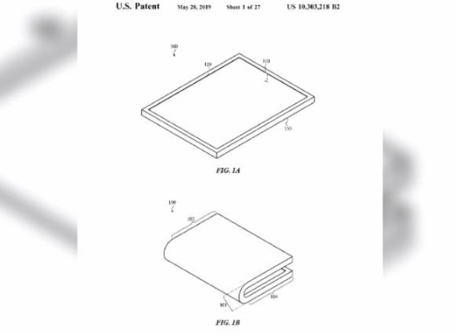 Apple отримав патент на гнучкий екран