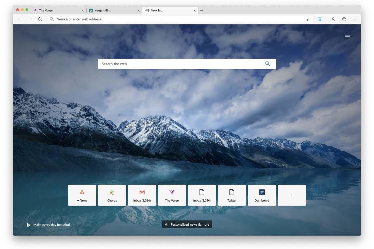 Edge на базі Chromium з'явився і для macOS