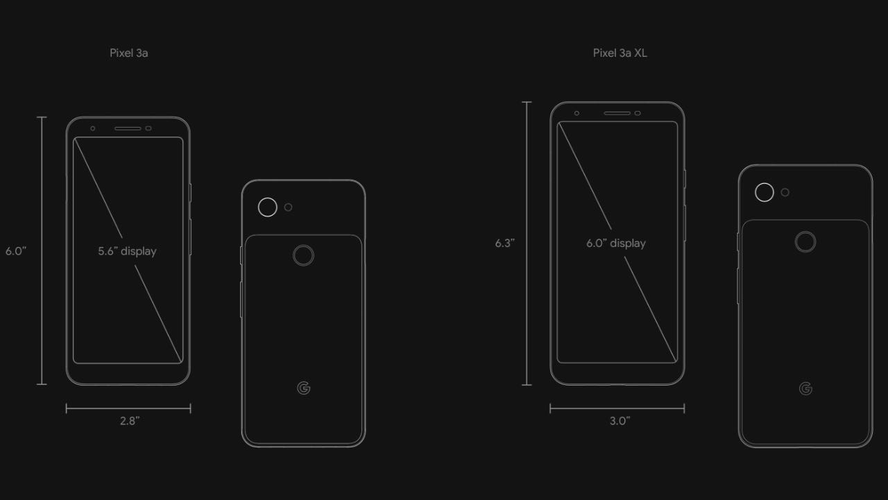 Google представив бюджетні Pixel 3a та Pixel 3a XL
