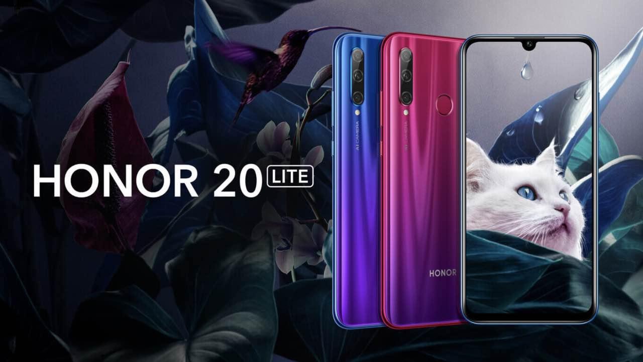 Honor 20 Lite: компанія представила новий середньобюджетний смартфон
