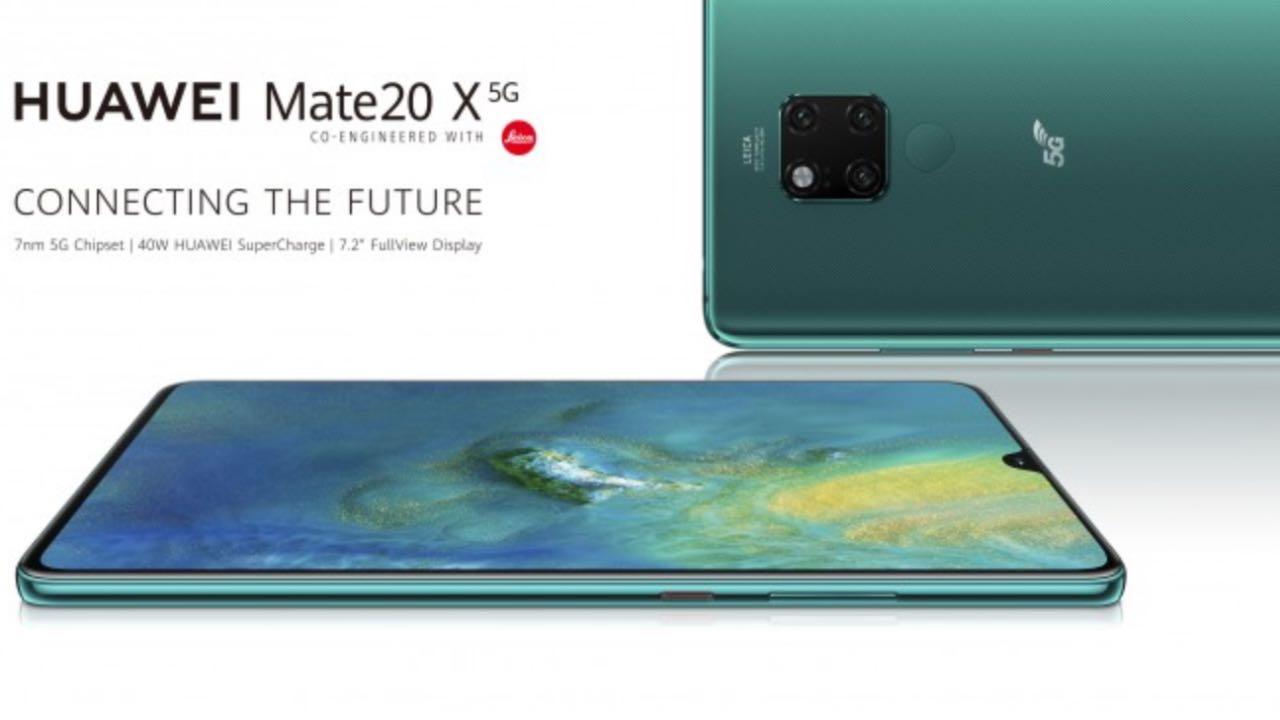Huawei Mate 20 X 5G отримав 40 Вт зарядку і ціну понад 30 тис грн