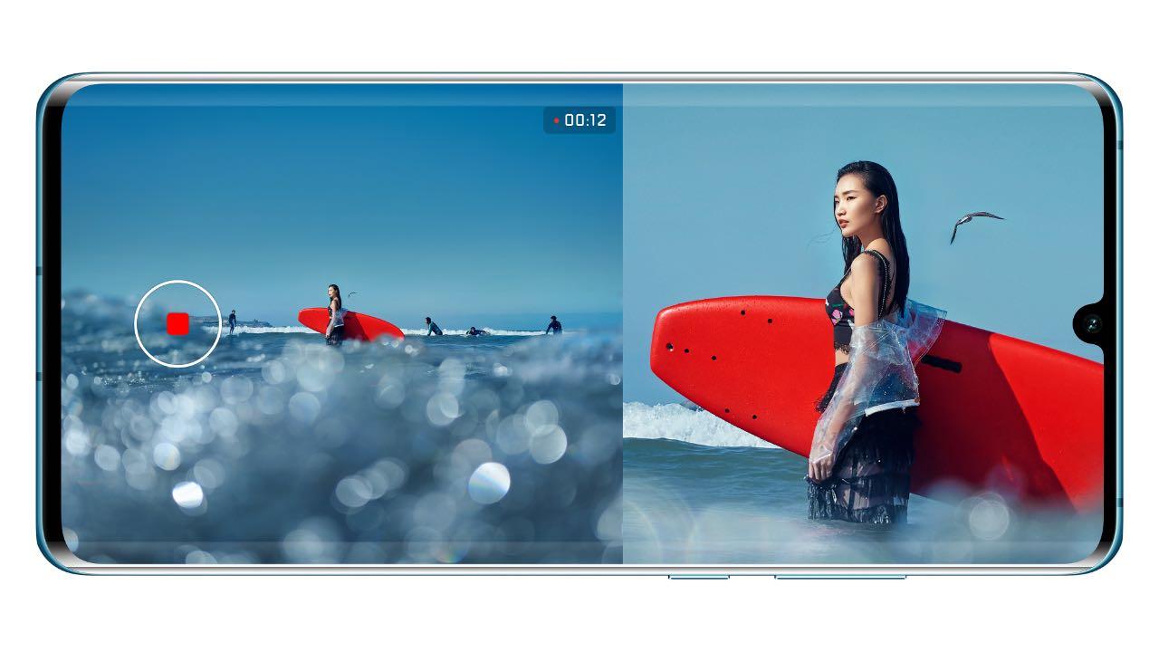 Huawei P30 та P30 Pro отримали режим зйомки Dual-View