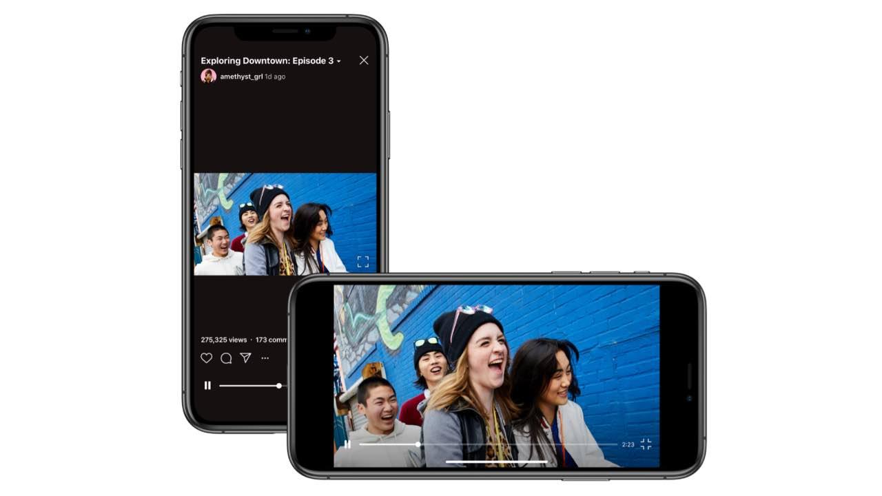 IGTV став підтримувати горизонтальні відеоролики