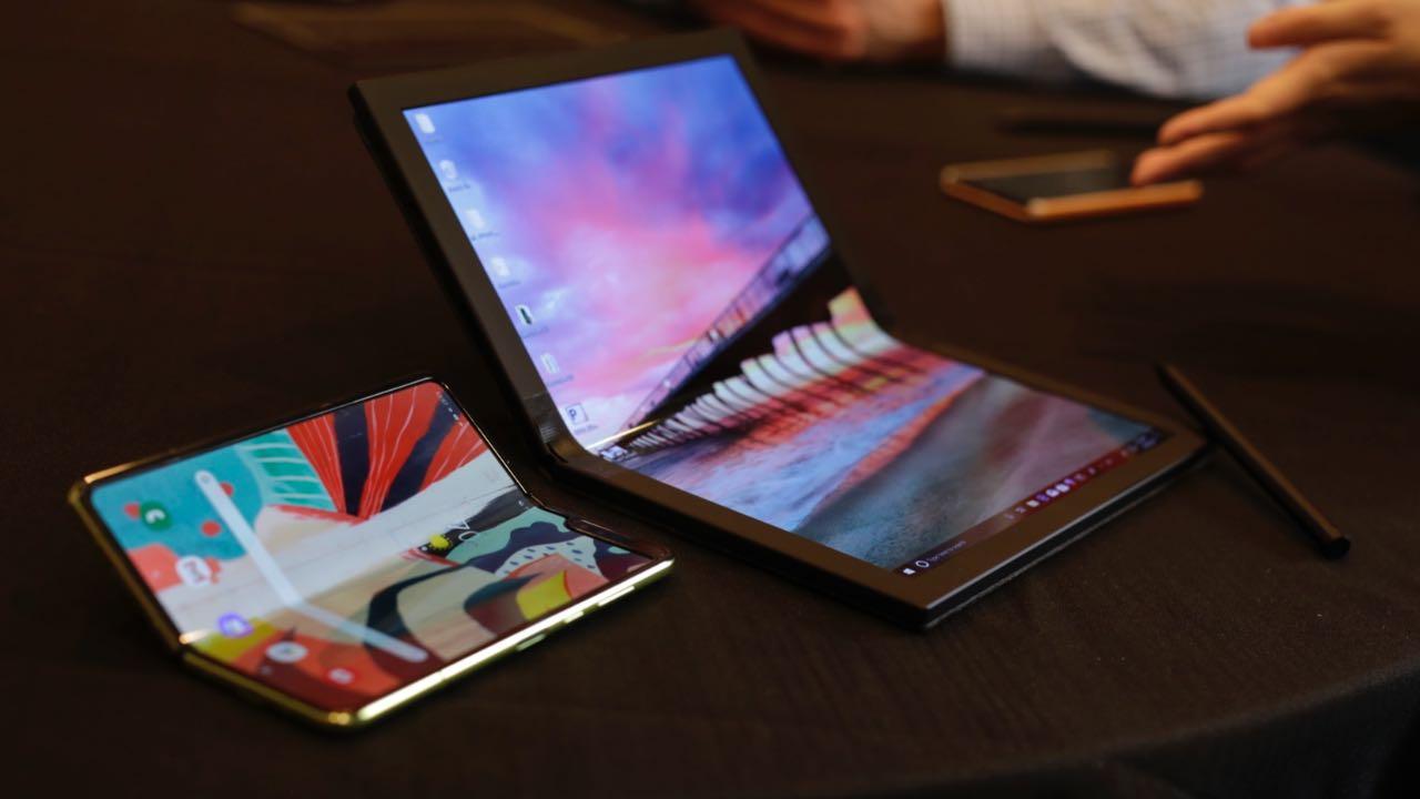 Lenovo розробляє ThinkPad з гнучким екраном