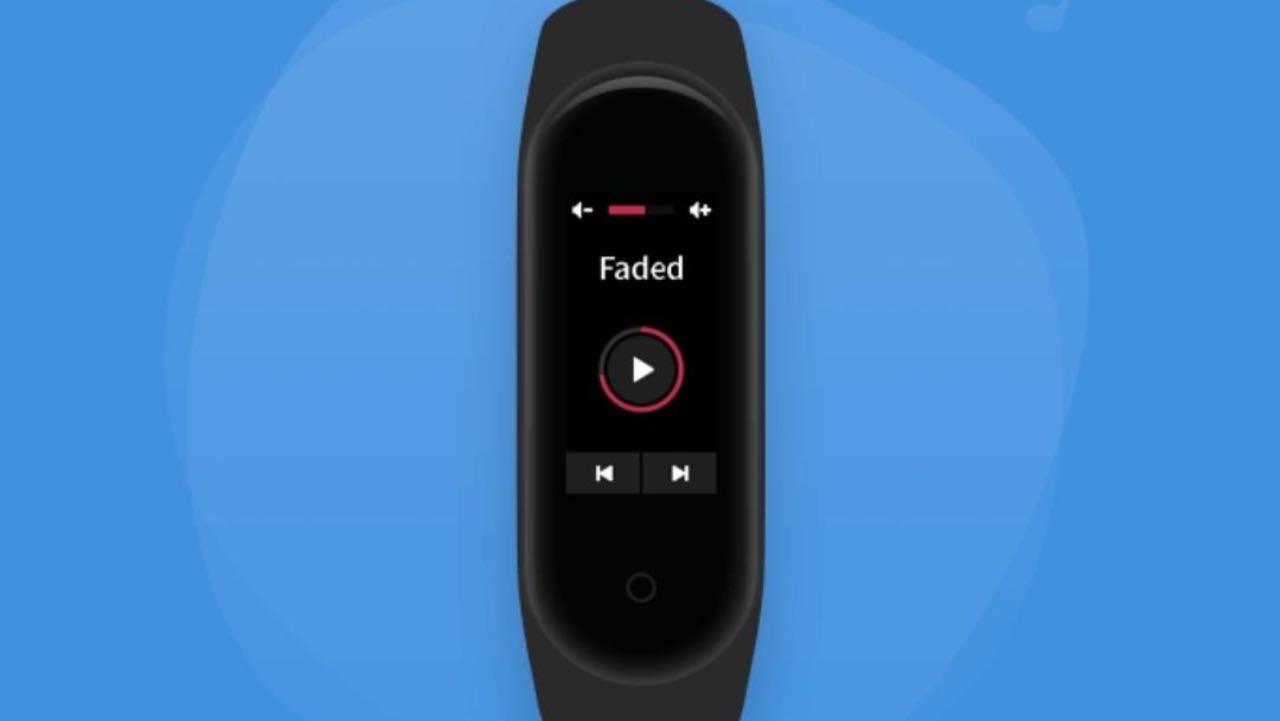 Xiaomi Mi Band 4 матиме функцію керування музикою