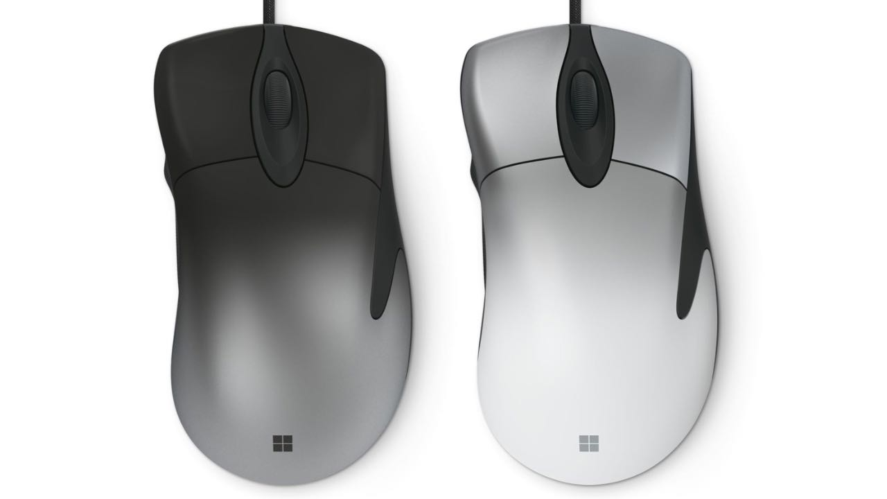 Microsoft випустив ігрову мишку Pro IntelliMouse
