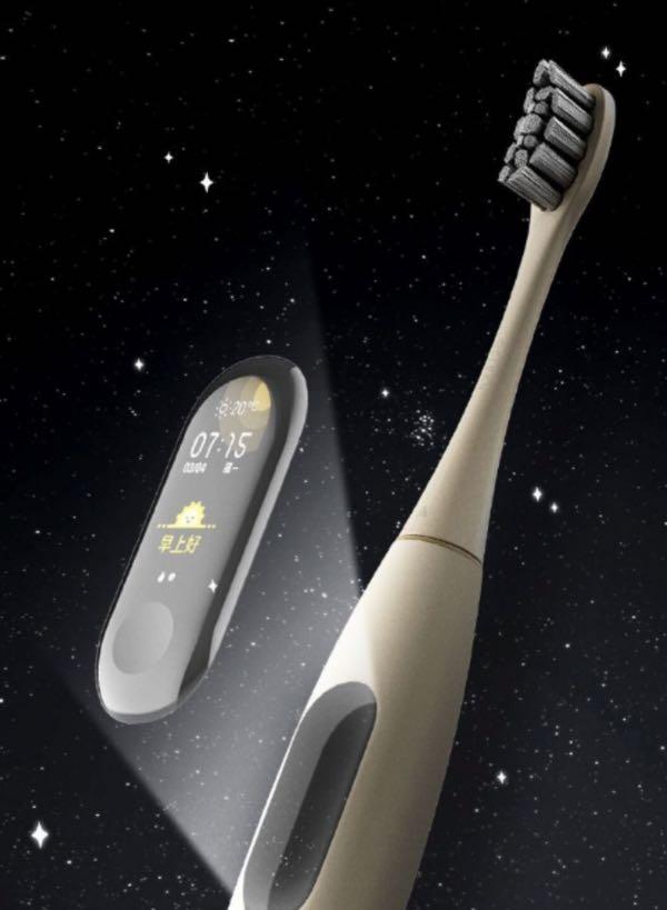 Huami створив зубну щітку з екраном як в Xiaomi Mi Band 3