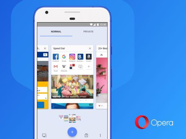Opera для Android дозволяє друкувати сторінки у PDF