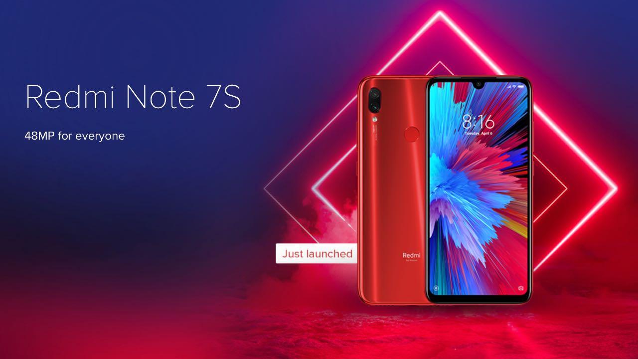 Redmi Note 7S: компанія випустила нову версію смартфона
