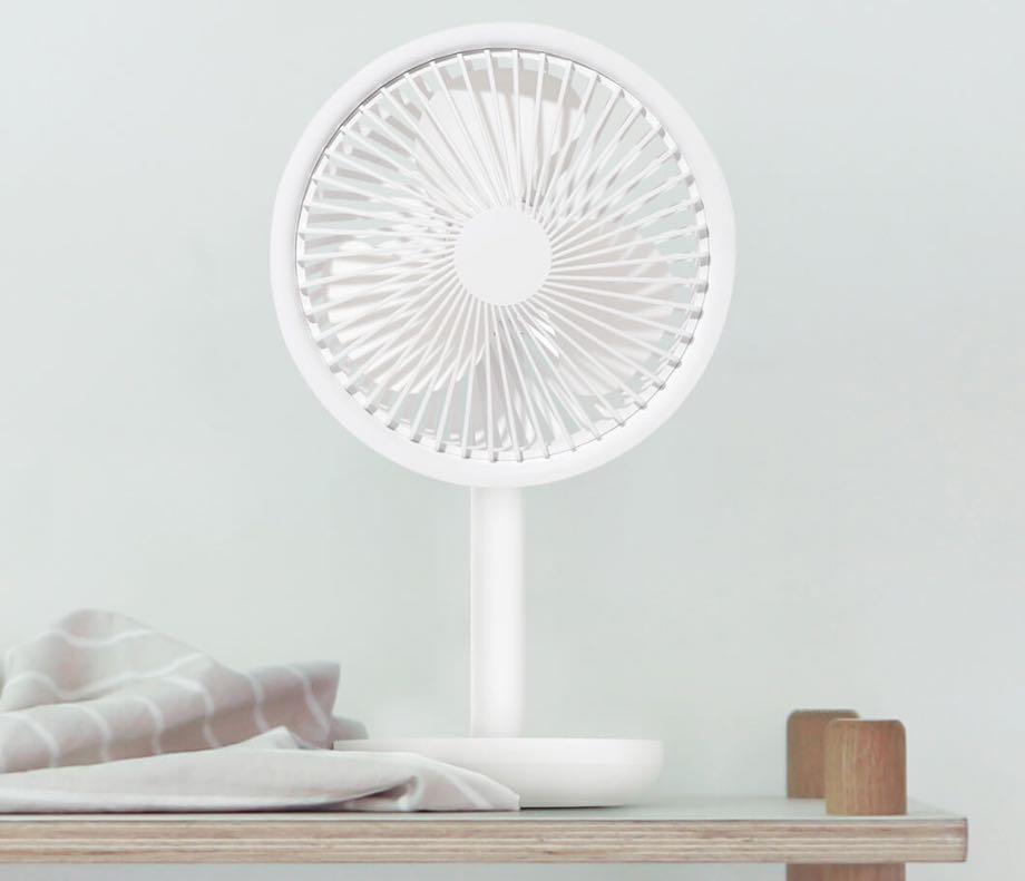 Xiaomi випустила бюджетний та автономний вентилятор