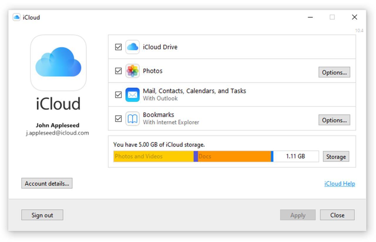 Apple iCloud став доступний у магазині Microsoft
