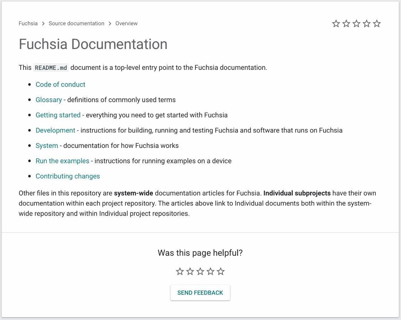 Fuchsia OS: Google запустив сайт для розробників