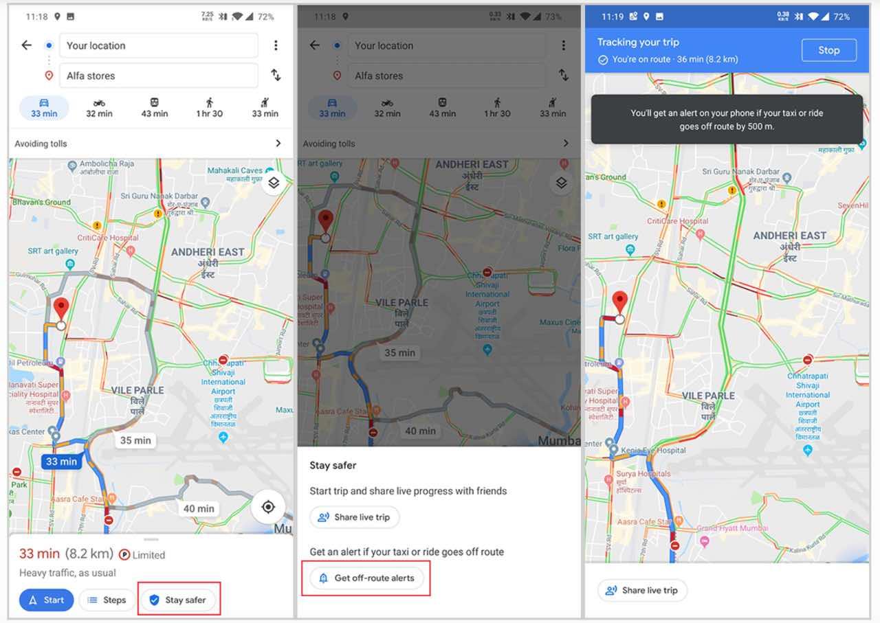 Нова функція Google Maps може зберегти життя