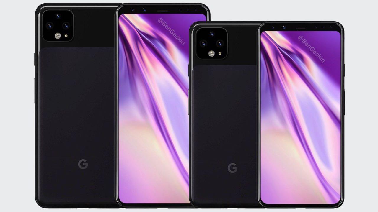 Google підтвердив дизайн Pixel 4 та 4 XL