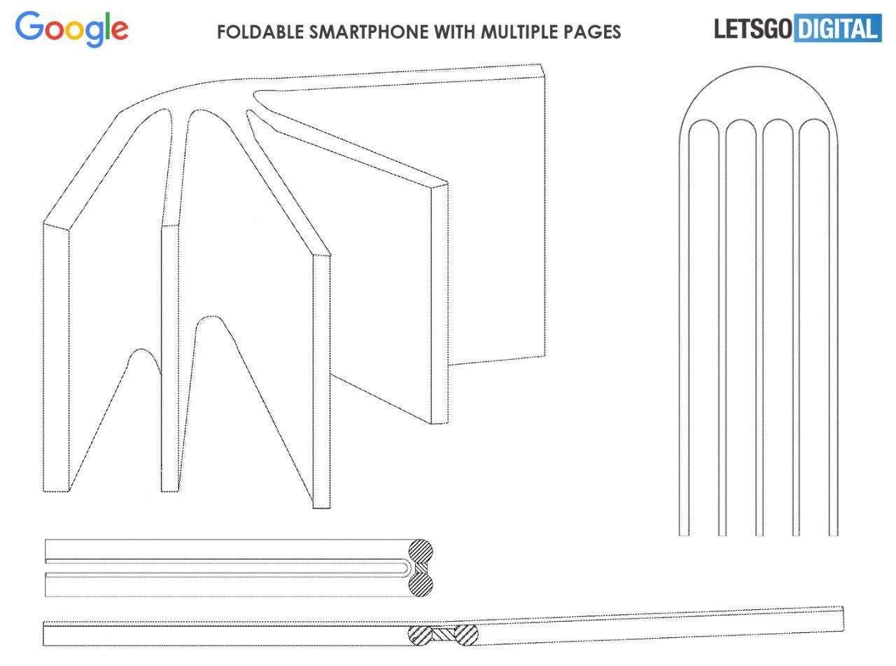 Google запатентував найунікальніший гнучкий смартфон