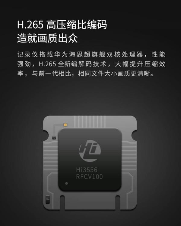 Відеореєстратор Xiaomi оснащений чипом Huawei