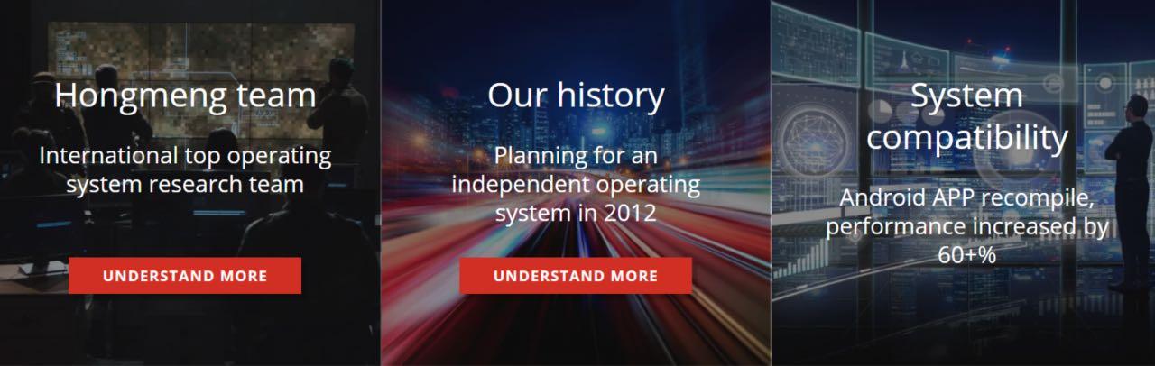 Сайт операційної системи HongMeng виявився підробним