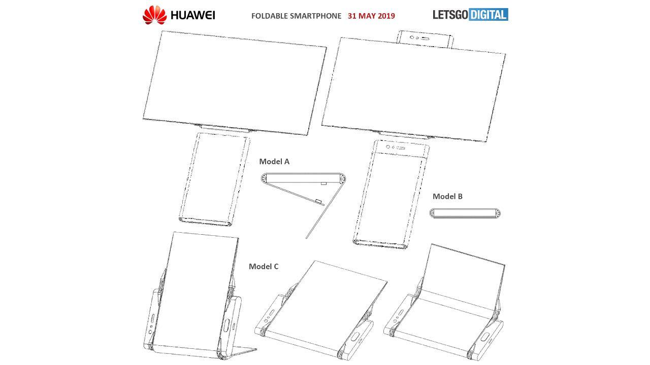 Huawei запатентував новий гнучкий смартфон