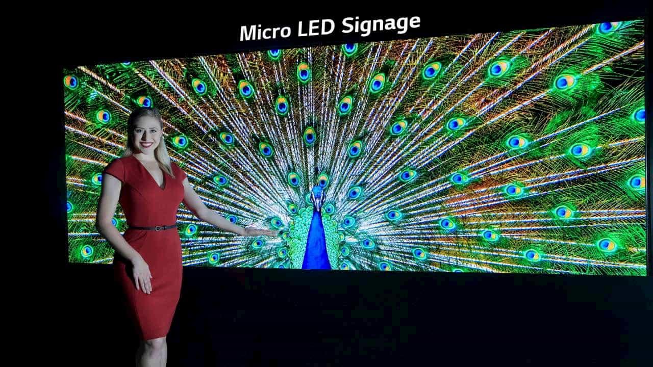 Унікальний Micro LED від LG