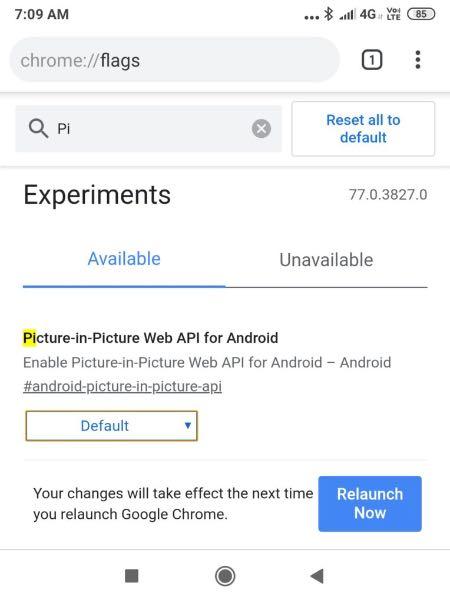 Chrome для Android отримає режим картинка-в-картинці