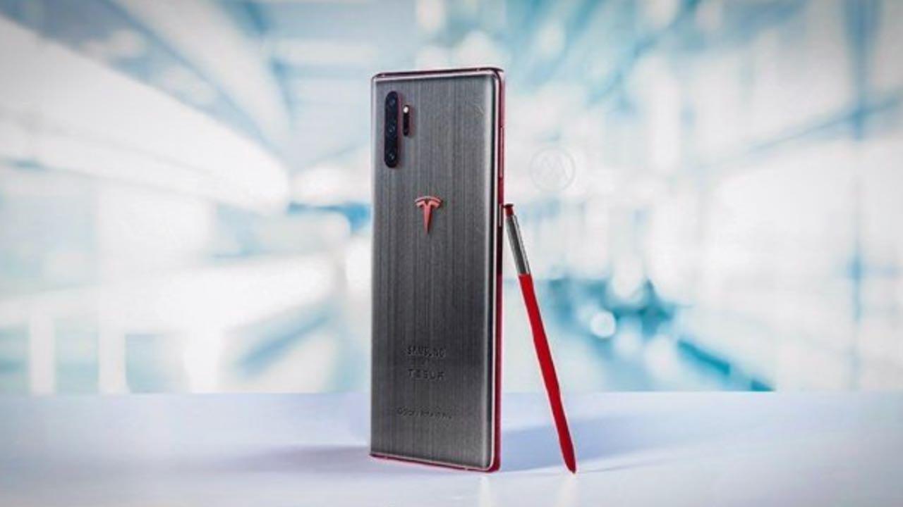 Samsung і Tesla можуть випустити версію Galaxy Note10 Tesla Edition