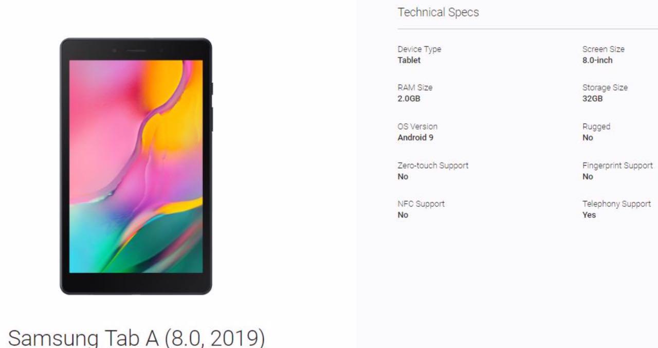 Samsung готує бюджетний планшет Galaxy Tab A