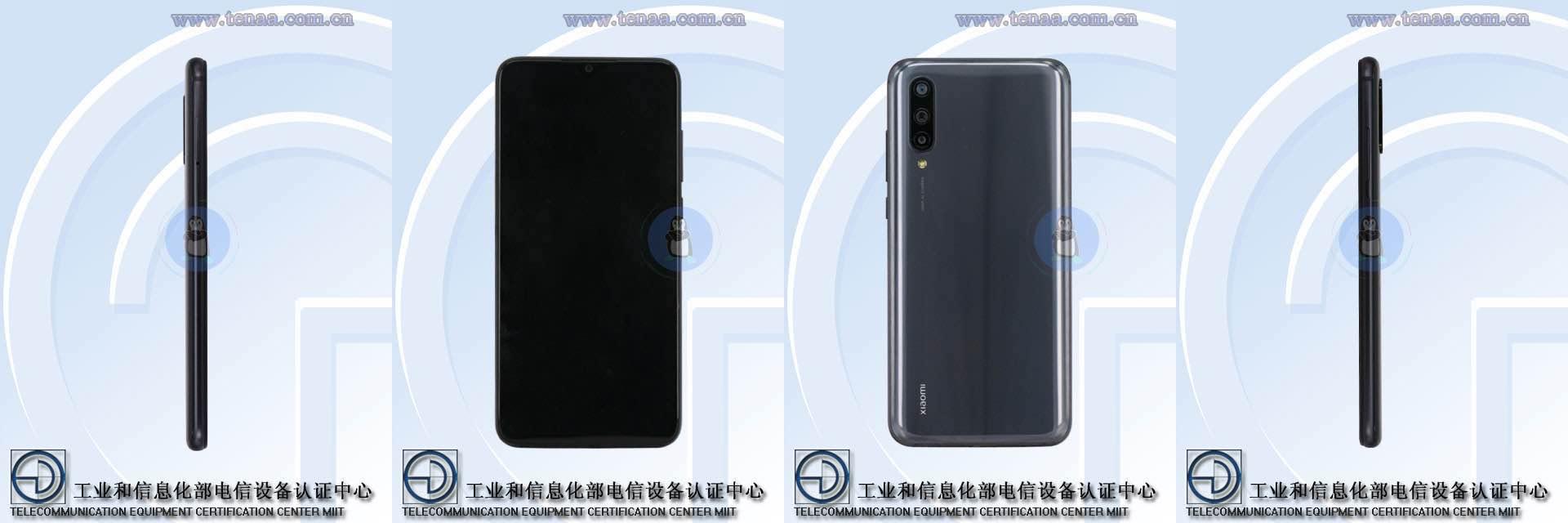 Xiaomi CC9 таCC9e помітили на рендерах