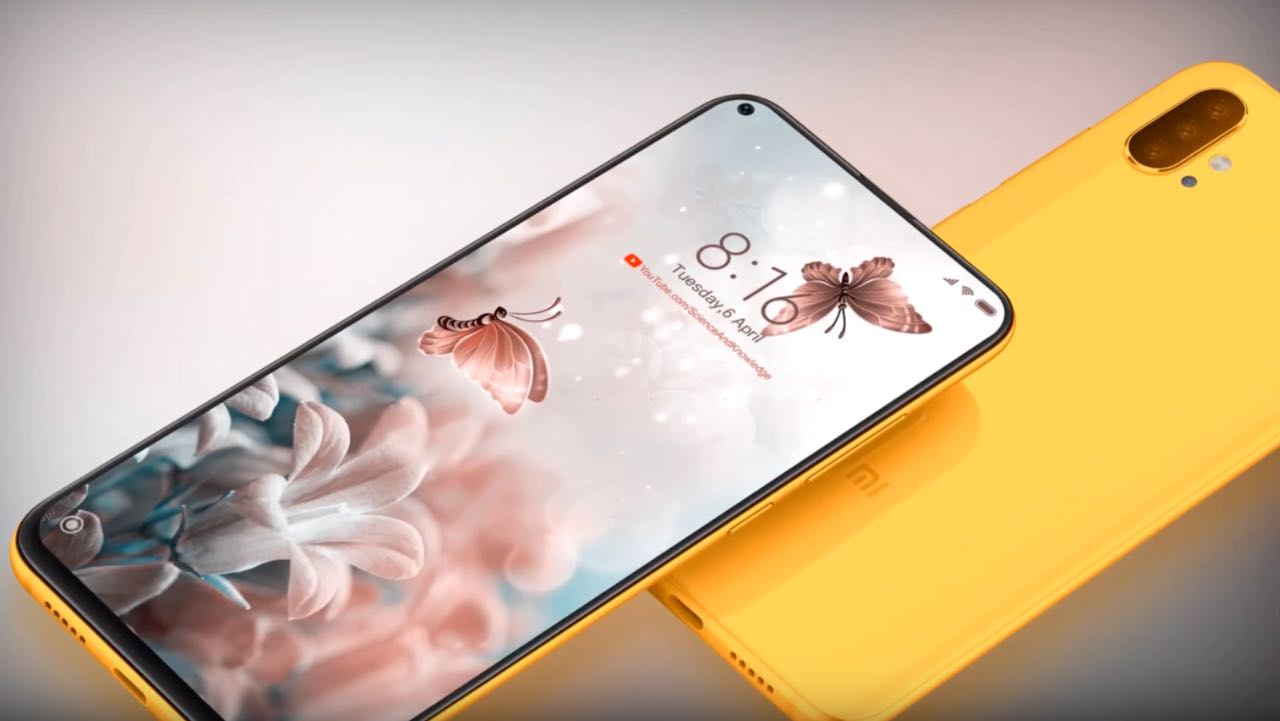 Xiaomi Mi 10: в мережі з'явилися концептуальні рендери