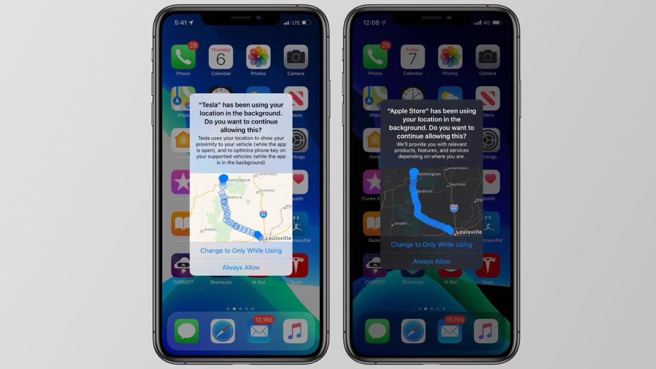 iOS 13 отримала оновлені функції конфіденційності