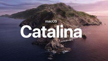macOS Catalina 10.15.6 / macOS 10.15.7