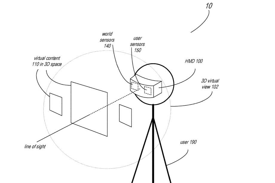 Apple запатентувала гарнітуру змішаної реальності, яка відстежує обличчя та рухи