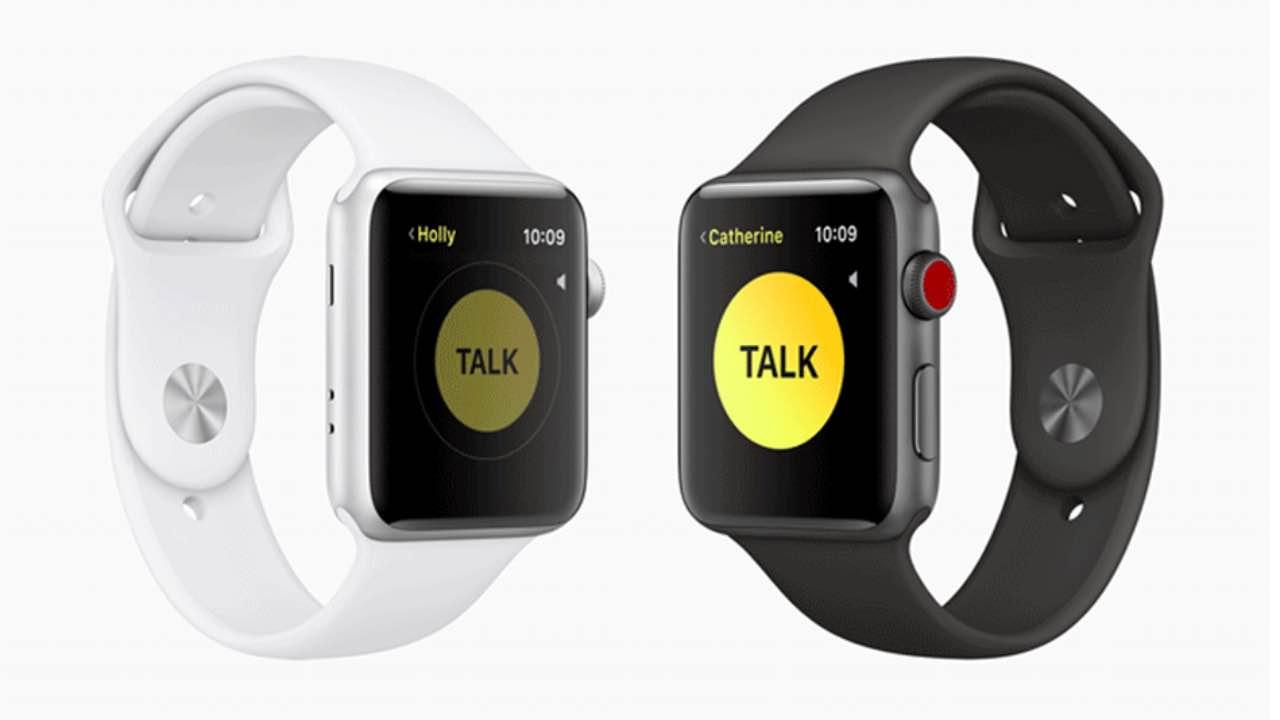 Apple відключила Walkie Talkie на Apple Watch через уразливість