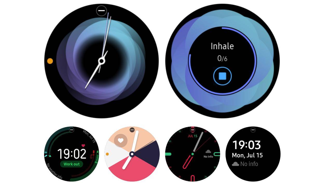 Циферблати Galaxy Watch Active стали доступними для старіших годинників Samsung