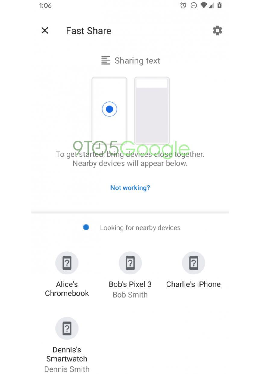 Google створив заміну функції Android Beam