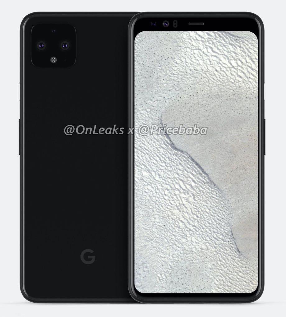 Google Pixel 4: став відомий дизайн передньої панелі