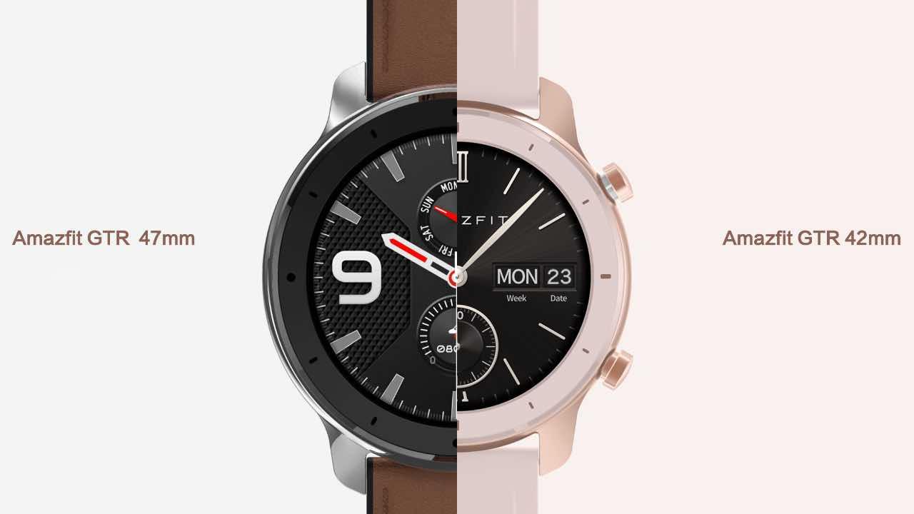 Huami випустив годинники Amazfit GTR з автономністю понад 20 днів