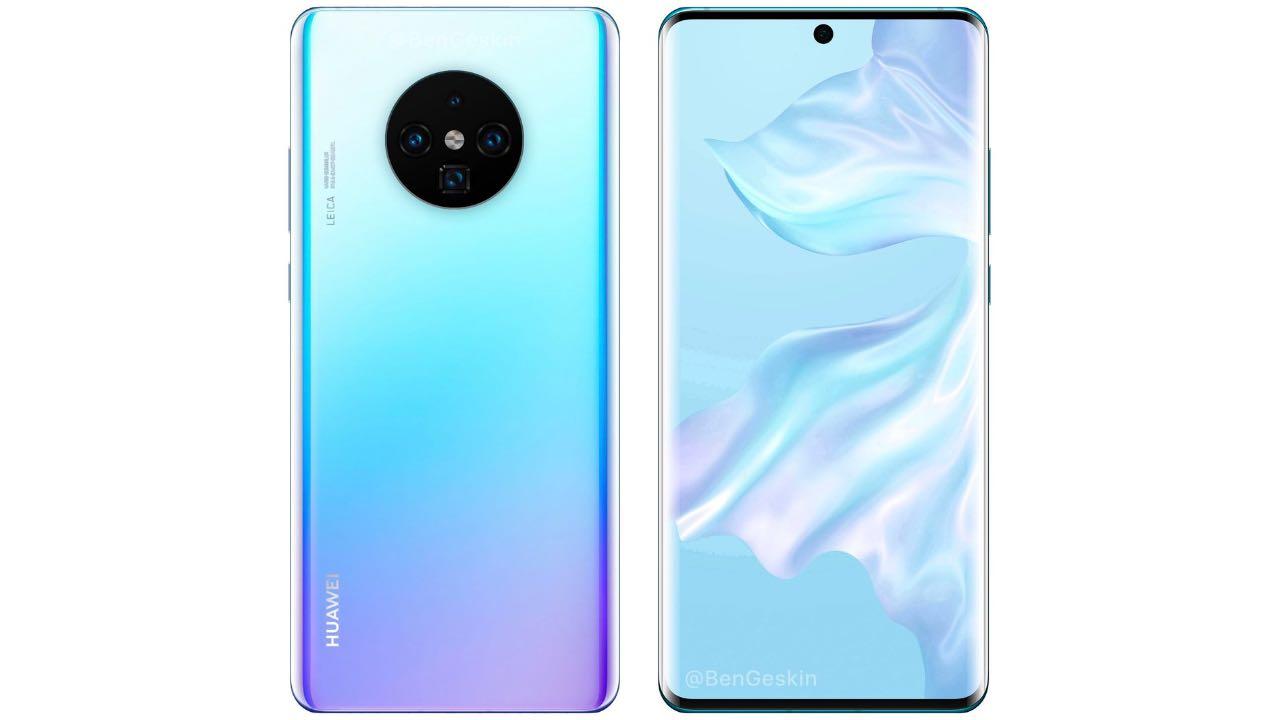Huawei Mate 30 Pro може отримати дизайн Samsung Galaxy Note10