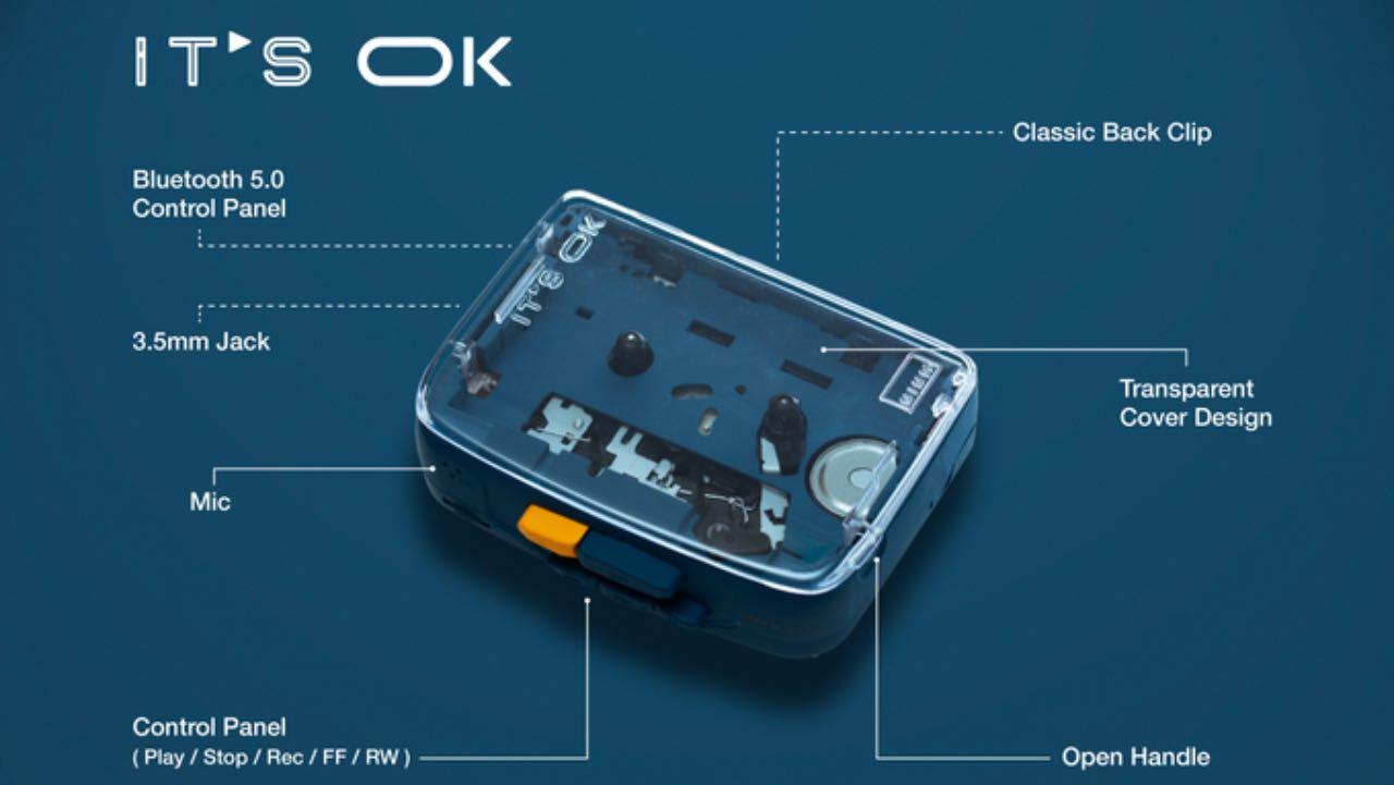 На Kickstarter з'явився касетний плеєр з підтримкою Bluetooth