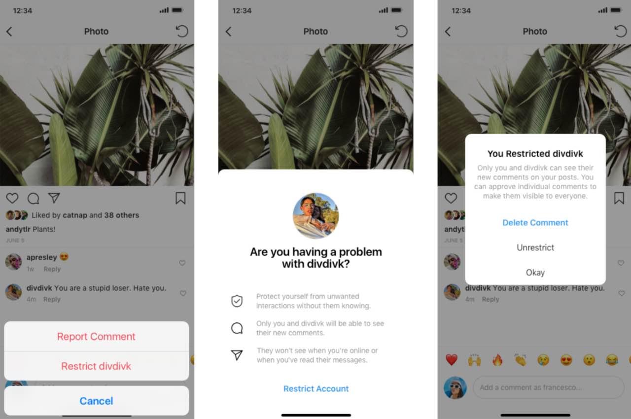 Instagram впроваджує нові способи проти цькування