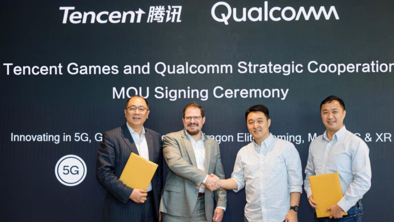 Qualcomm та Tencent працюватимуть разом над ігровим смартфоном з 5G