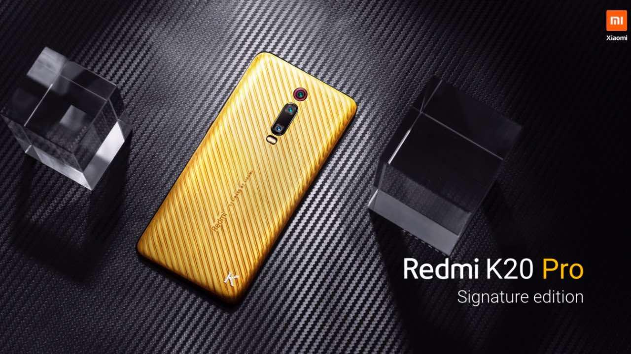 Xiaomi представила Redmi K20 Pro з чистого золота за $ 7 тис.