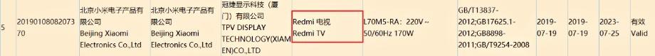 Redmi дійсно випустить свій перший розумний телевізор