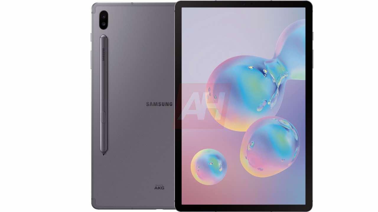 Samsung Galaxy Tab S6: в мережі з'явились якісні рендери та характеристики