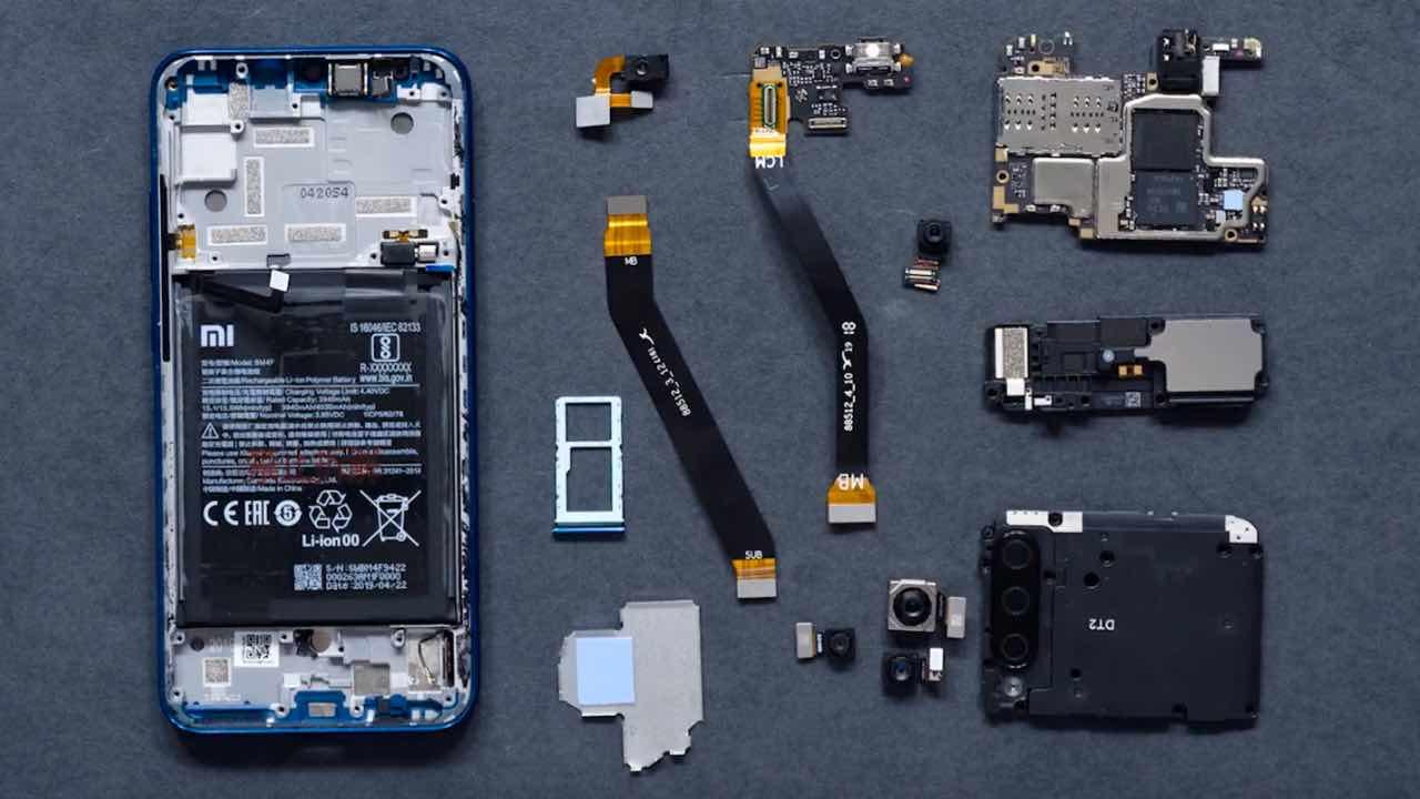 Xiaomi Mi A3: компанія показала, що всередині смартфона